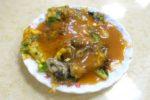 台湾グルメ牡蠣オムレツ
