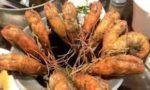 台湾の胡椒蝦とエビ釣り