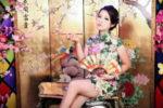 台湾のチャイナドレス旗袍